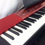 CASIO 電子ピアノ PX-A100 Privia メタリックレッド★極上品買取★
