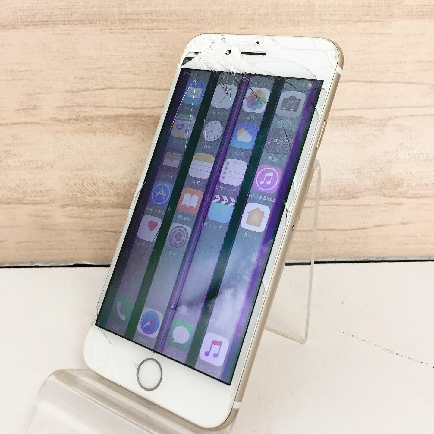 Apple iPhone6 64GB ゴールド MG4J2J/A SoftBank★ジャンク品買取★