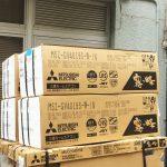 MITSUBISHI ルームエアコン 4台 新品買取★